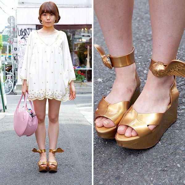 Golden-shoes
