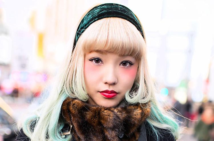 green-blonde